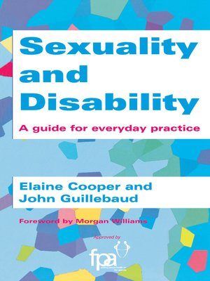 cover image of Sexuality and Disability