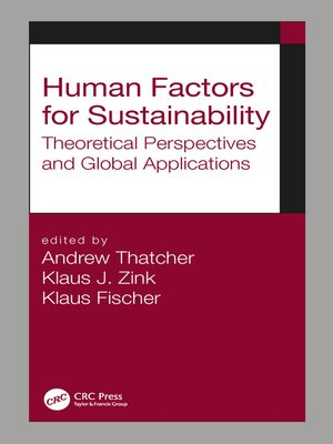 cover image of Human Factors for Sustainability