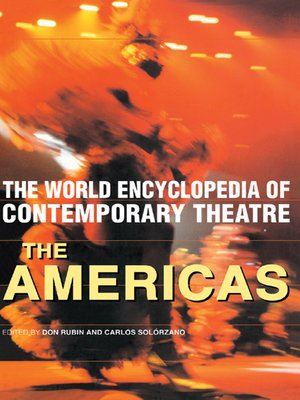 cover image of World Encyclopedia of Contemporary Theatre
