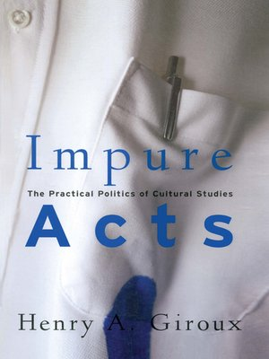 cover image of Impure Acts