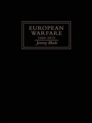 cover image of European Warfare, 1660-1815