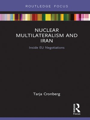 cover image of Nuclear Multilateralism and Iran