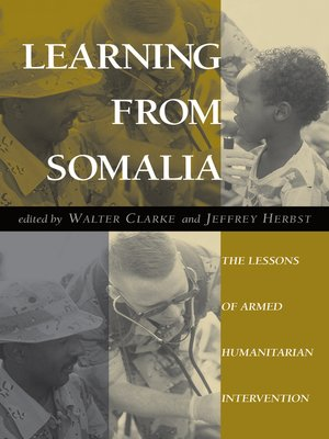 cover image of Learning From Somalia