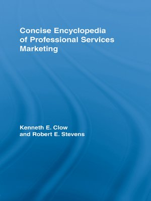 cover image of Concise Encyclopedia of Professional Services Marketing