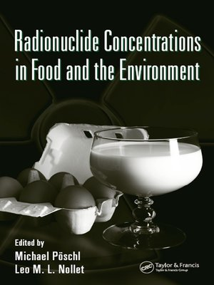 cover image of Radionuclide Concentrations in Food and the Environment