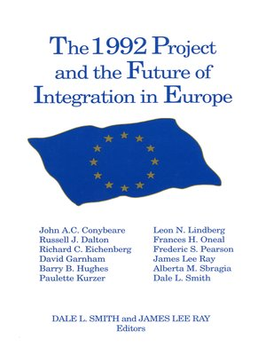 cover image of The 1992 Project and the Future of Integration in Europe