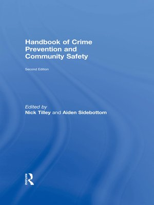 cover image of Handbook of Crime Prevention and Community Safety
