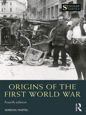 the origins of the first world war james joll pdf