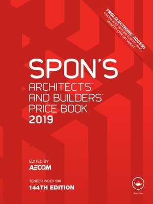 cover image of Spon's Architects' and Builders' Price Book 2019