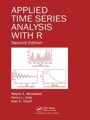cover image of Applied Time Series Analysis with R