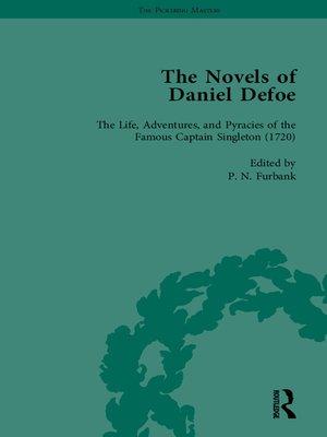 cover image of The Novels of Daniel Defoe, Part I Vol 5