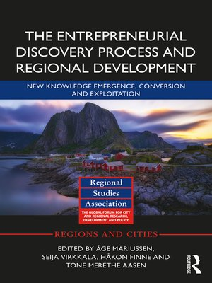 cover image of The Entrepreneurial Discovery Process and Regional Development