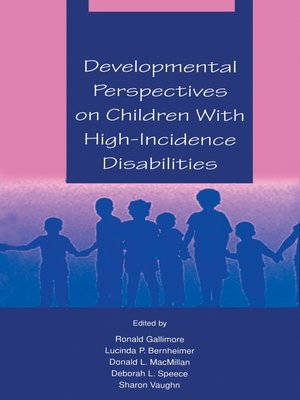 cover image of Developmental Perspectives on Children With High-incidence Disabilities