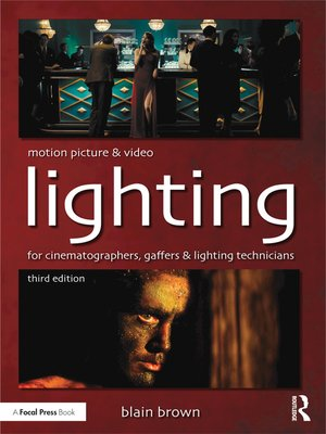 cover image of Motion Picture and Video Lighting