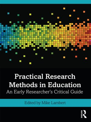 cover image of Practical Research Methods in Education