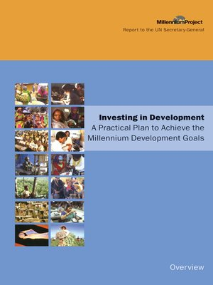 cover image of UN Millennium Development Library