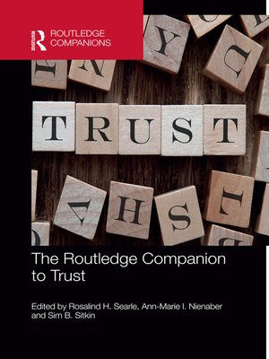 cover image of The Routledge Companion to Trust