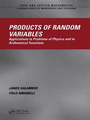 cover image of Products of Random Variables