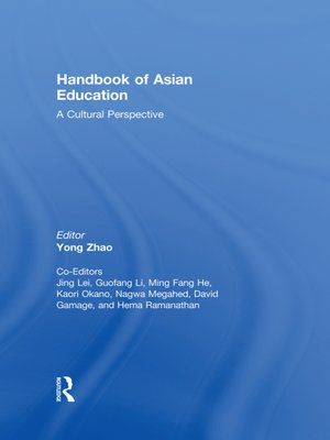cover image of Handbook of Asian Education