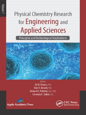 cover image of Physical Chemistry Research for Engineering and Applied Sciences, Volume One
