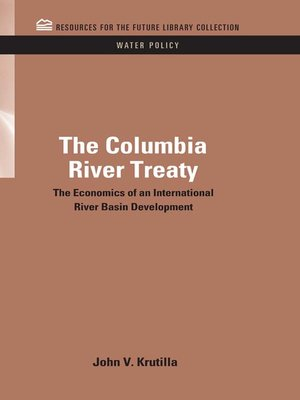cover image of The Columbia River Treaty