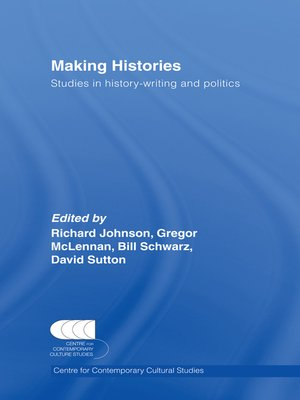 cover image of Making Histories