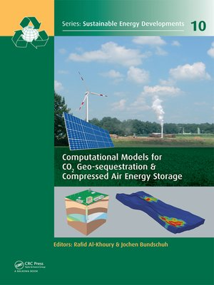 cover image of Computational Models for CO2 Geo-sequestration & Compressed Air Energy Storage