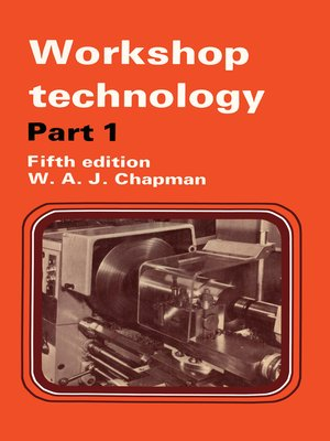 cover image of Workshop Technology Part 1