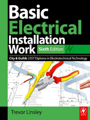 cover image of Basic Electrical Installation Work 2357 Edition