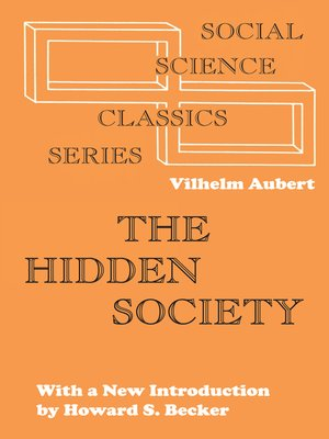 cover image of The Hidden Society