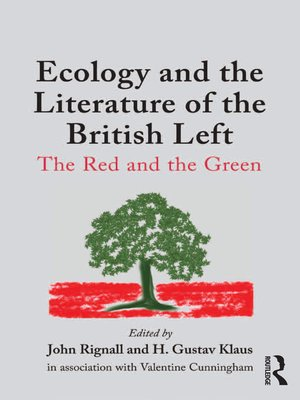 cover image of Ecology and the Literature of the British Left