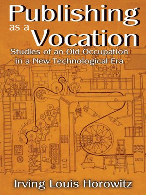 cover image of Publishing as a Vocation