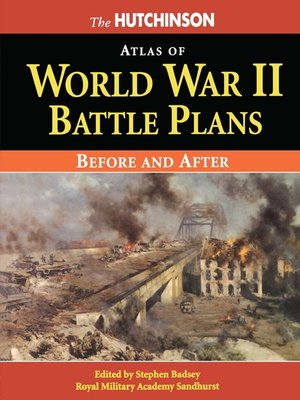 cover image of The Hutchinson Atlas of World War II Battle Plans