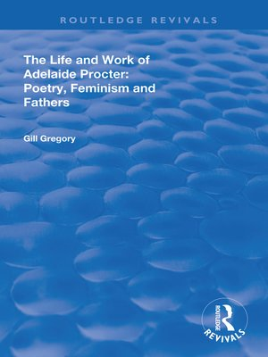 cover image of The Life and Work of Adelaide Procter