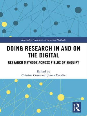 cover image of Doing Research In and On the Digital