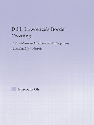 cover image of D.H. Lawrence's Border Crossing