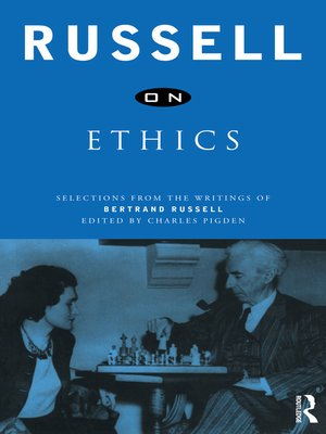 cover image of Russell on Ethics