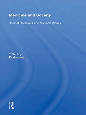 cover image of Medicine and Society