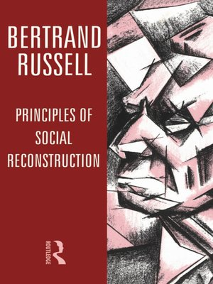 cover image of Principles of Social Reconstruction