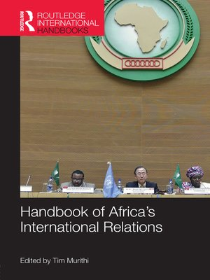 cover image of Handbook of Africa's International Relations