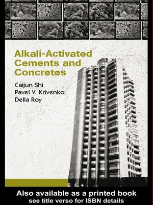 cover image of Alkali-Activated Cements and Concretes