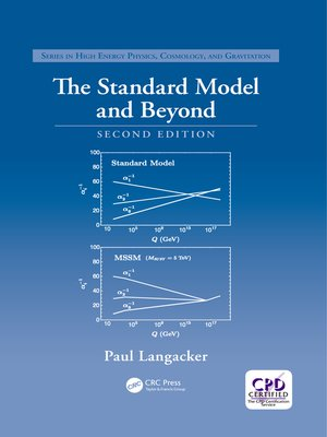 cover image of The Standard Model and Beyond