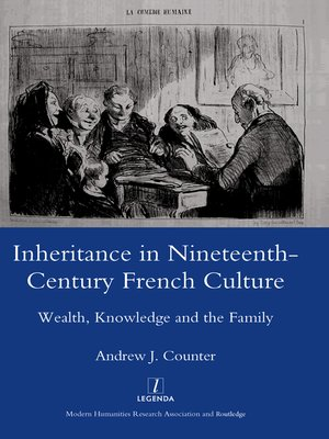 cover image of Inheritance in Nineteenth-century French Culture