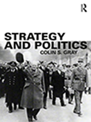 cover image of Strategy and Politics
