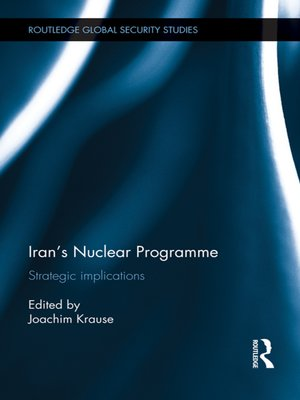 cover image of Iran's Nuclear Programme