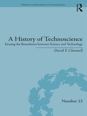 cover image of A History of Technoscience