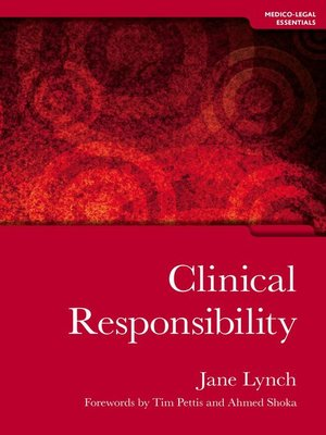 cover image of Clinical Responsibility