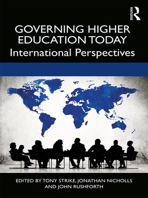 cover image of Governing Higher Education Today
