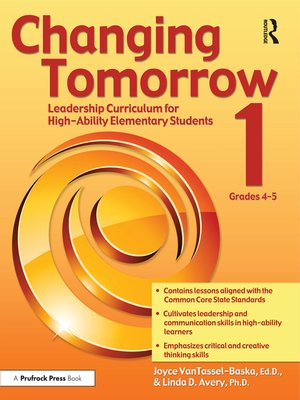 cover image of Changing Tomorrow 1, Grades 4-5