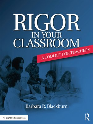 cover image of Rigor in Your Classroom
